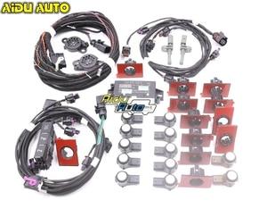 Интеллектуальная помощь при парковке спереди и сзади, PLA 12K OPS для VW Golf 7 MK7 VII UPGRADE 5Q0 919 298 K