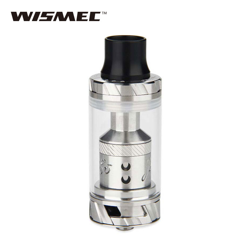 Original WISMEC Reux Atomizer Kit 6ml with REUX RX Triple 0.15ohm Head/RX Ceramic 0.5ohm Head/RX RTA Deck/Clapton Coil 1.0oh original wismec elabo sw 2ml atomizer