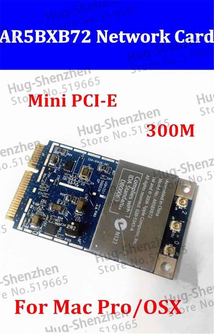 1 pcs Livraison Gratuite 2.4g 5.8g D'origine Pour Tous Les Mac Pro Atheros Sans Fil Airport Extreme WIFI Carte Mini PCIE AR5BXB72 MA970