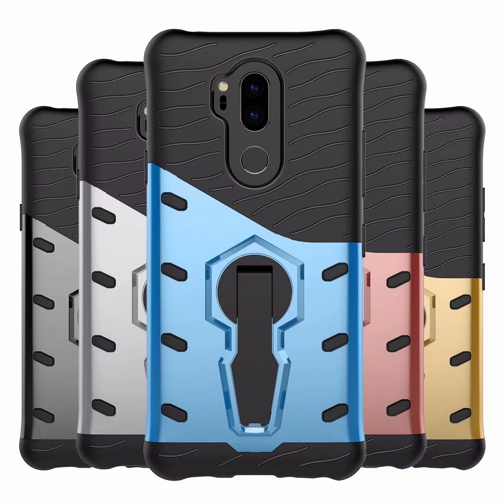 New Strong Sniper Shockproof Air Bag 360 Bracket Phone Cover Case For LG G7 ThinQ