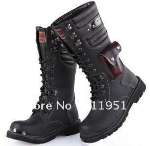 Online Shop Cheap Men Martin Military Long Boots 2012 | Aliexpress ...