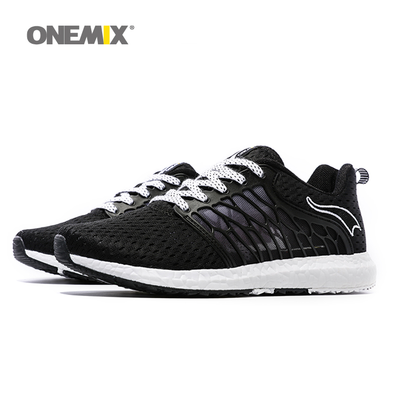 ONEMIX Men Sneakers Breathable Outdoor Men s Running Shoes Lace Up Athletic Male Shoes Sneakers Zapatos