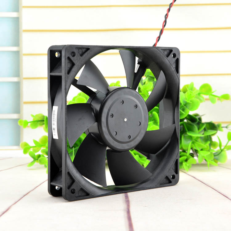 New original 12cm12025 12v 0.39A A35741-16C1S1 computer power supply chassis silent fan 4V