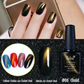 Belen 10ml Newest Popular Soak Off Cat Eye Top Coat Gel Polish 6 Colors Professional Gel Nail Polish Colurful Gold Effect