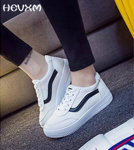 2017 Ladies platform Shoes canvas shoes Flats Slip On Solid Woman Leisure breathable Shoe Female Fashion Casual Shoes slipony