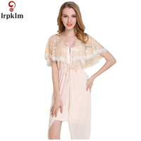 High Quality Imitation Silk Women Pajamas 2018 Summer New Sexy Pure Color V Neck Short Pajamas Fashion Lace Home Wear JW196