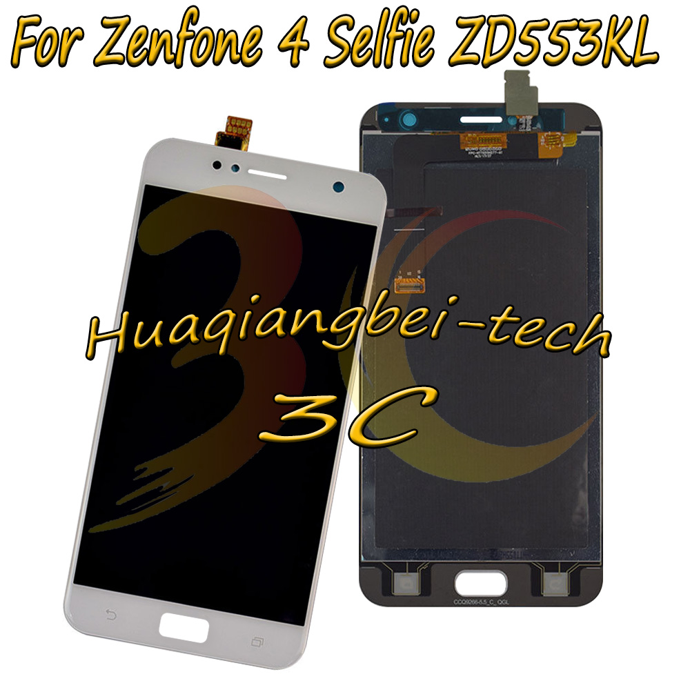 5.5 '' New For Asus Zenfone 4 Selfie ZD553KL X00LD Full LCD DIsplay +Touch Screen Digitizer Assembly 100% Tested