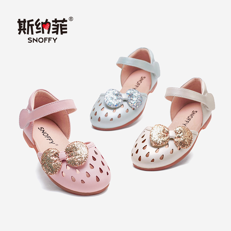 Children Sandal Girls Summer Shoes Sequin Bow Baby Girls Princess Shoes Party Close Toe Soft Kids Beach Sandal TX510Children Sandal Girls Summer Shoes Sequin Bow Baby Girls Princess Shoes Party Close Toe Soft Kids Beach Sandal TX510