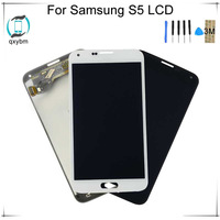 Super OLED 5.1inch For Samsung S5 LCD G900F G900 LCD Disaplay Touch Screen Digitizer Assembly with 3M Sticker 5.1inch LCD