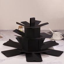 Творческий взрыв коробка любовь памяти многослойный сюрприз DIY Фотоальбом как день рождения Юбилей подарки