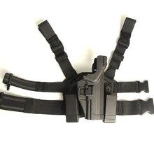 Уровень 3 Падения Нога Тактический Кобура Ipsc Cuisse Боевой Airsoft Охота Армия Duty Hand Gun Аксессуары Для HK USP Compact