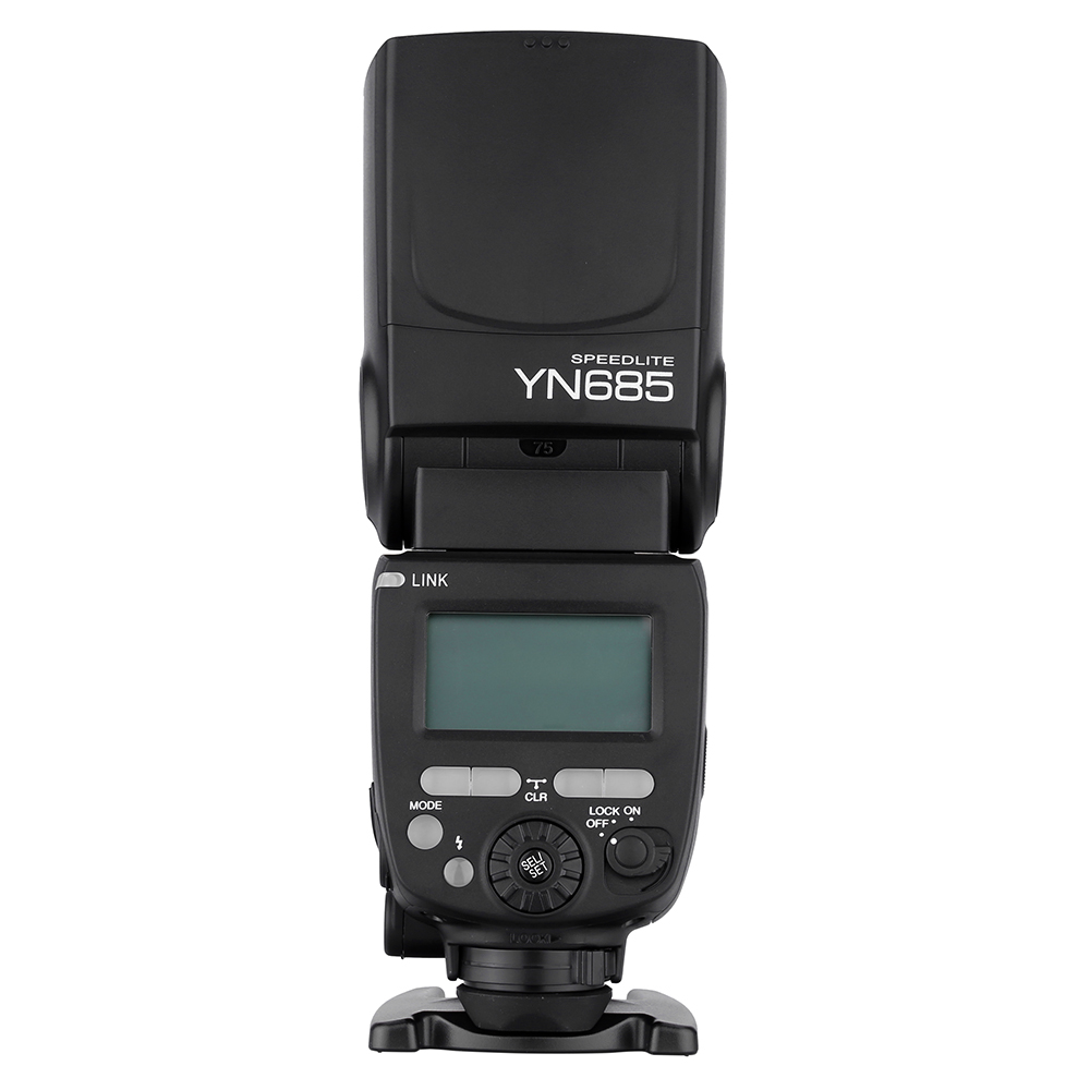 YONGNUO YN685 Flash HSS 1/8000s GN60 2.4G Wireless Speedlite E-TTL Speedlight for Canon DSLR Cameras nicefoto k8 800ws gn103 ttl hss 1 8000s 2 4g wireless battery powered flash 1 8s fast recycling for canon nikon dslr cameras