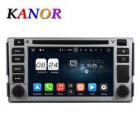 Kanor 8 Core Android 6 0 Car Dvd Player For Hyundai Santa Fe 2005 In Dash