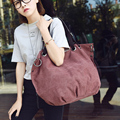 2016 Hot Retro Canvas Women Bag Tote New Style Women Shoulder Bags Casual Large Vintage Women Handbags Women Messenger Bags