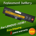 Jigu 45n1023 45n1022 45n1026 45n1027 batería del ordenador portátil para lenovo thinkpad x230 x230i