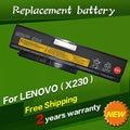 Jigu 45n1023 45n1022 45n1026 45n1027 bateria do portátil para lenovo thinkpad x230 x230i