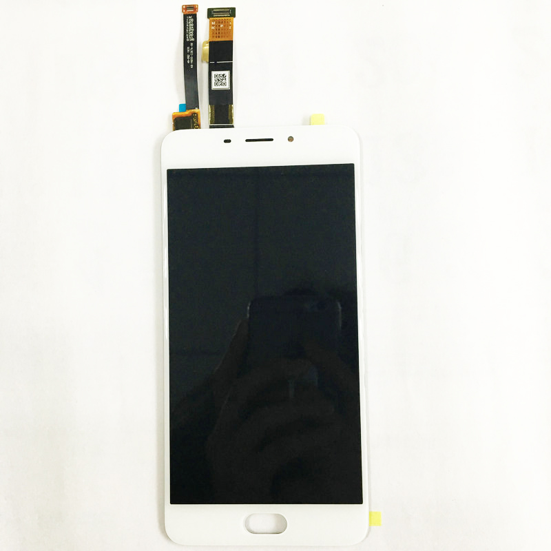 LCD Display Touch Screen Digitizer Assembly Replacement Accessories For Meizu M3E Meilan E Octa Core 5.5 Inch Cell Phone lcd screen display touch digitizer with frame for meizu m5s meilan 5s m612h m612m white black 5 2 inch lcd free shipping tools
