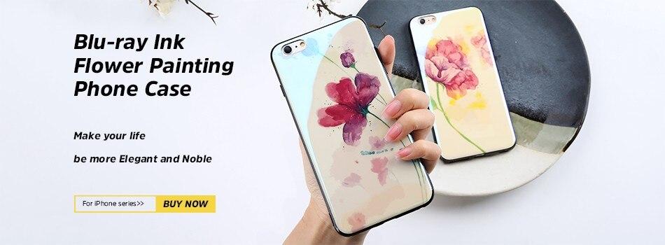⑧Floveme Aurora De Lujo caso duro para el iPhone 6 7 más 5 5S color ...