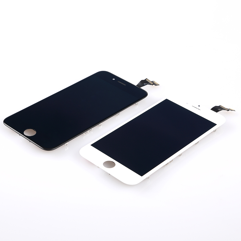 ФОТО Black white For iPhone 6 4.7 inch LCD Display Digitizer Touch Screen Assembly+Frame+Menu Button+Front Camera+Tools for iphone6
