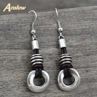 Anslow Trendy Klassische Beste Verkauf Vinatge Stil Maxi Brinco Bijoux Femme Hängen Ohrringe Für Frauen Freies Verschiffen LOW0032AE