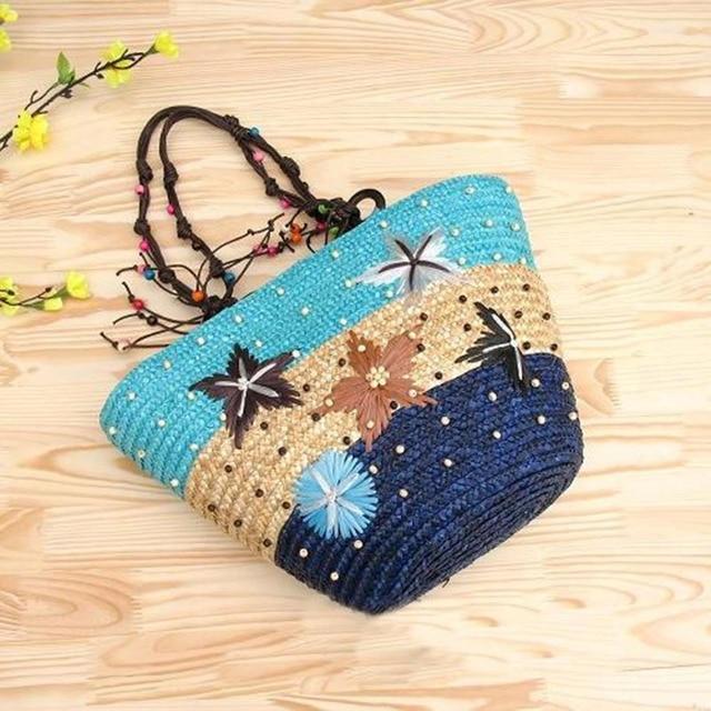 REREKAXI Straw Bag Women...