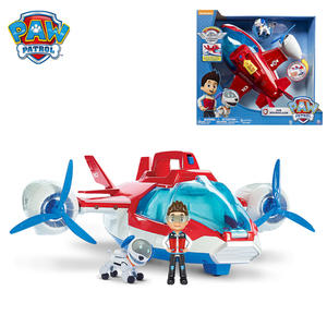 Toys Yacht-Robot Action-Figures Ryder Music Gifts Captain Paw Aircraft for Children Ferry