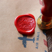 Save The Date Wax Seal Stamp Sealing Wax Seal Wedding Wax Stamp