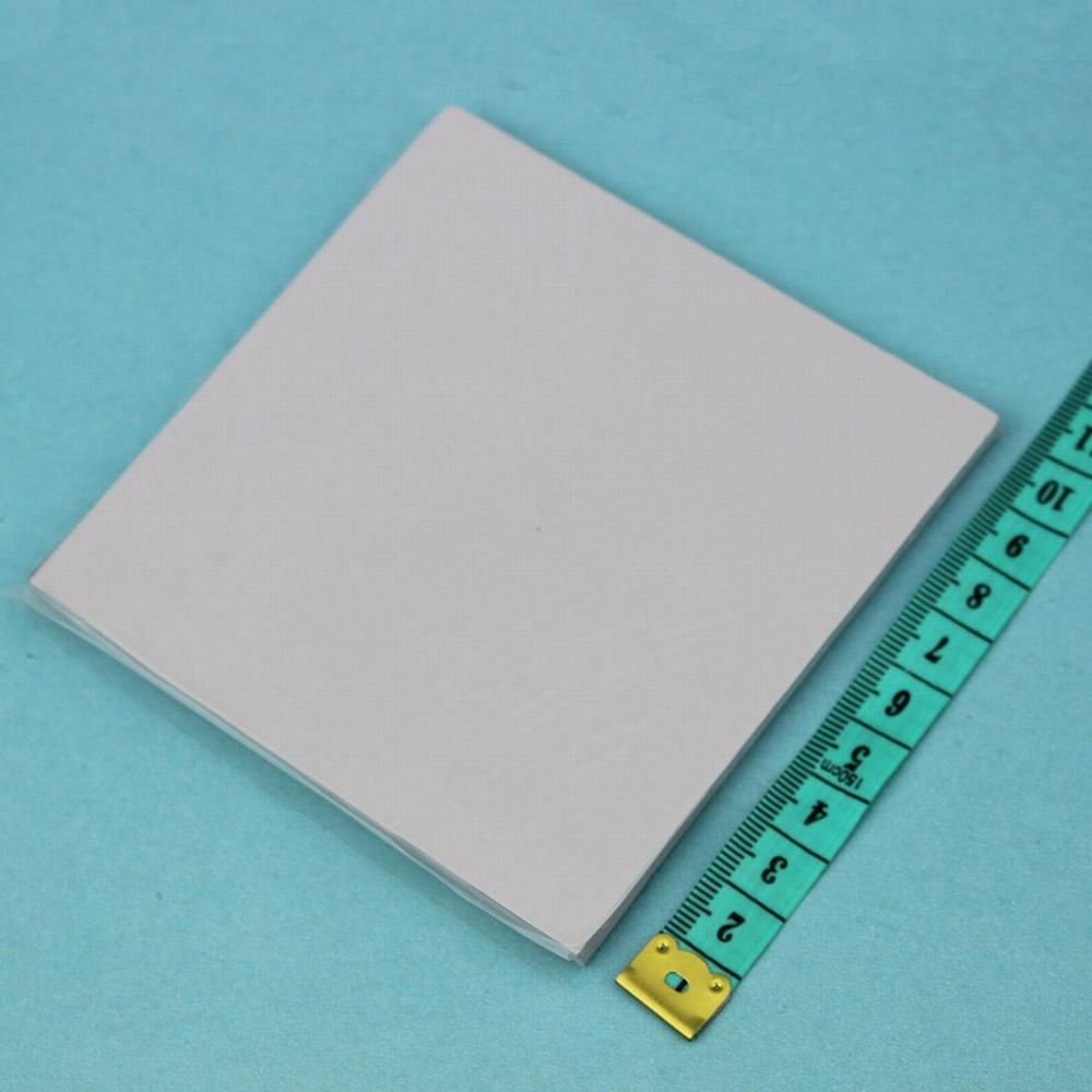 5 Pcs Gdstime 100mm x 100mm x 5mm Grey Thermal Silicon Conductive Pad For Laptop IC Card Heatsink Cooling 1.97 inch Thickness