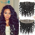 7A Lace Frontal Closure Peruvian Loose Wave Ear to Ear Full Frontal Lace Closure 13x4 Bleach Knots Lace Frontals With Baby Hair