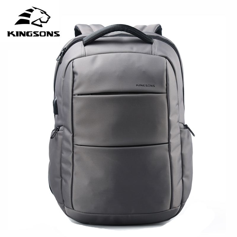 Kingsons External Charging USB Function Laptop Backpack Anti-theft Man Business Dayback Women Travel Bag 15.6 inch KS3142W kingsons external charging usb function school backpack anti theft boy s girl s dayback women travel bag 15 6 inch 2017 new