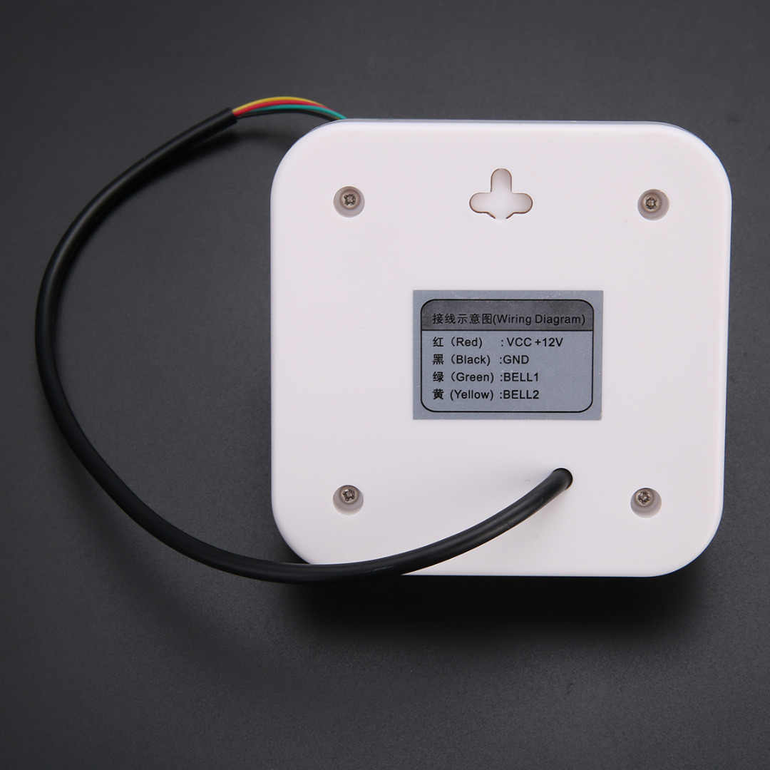 hight resolution of  dc 12v wired door bell doorbell chime for office home access control system home security door