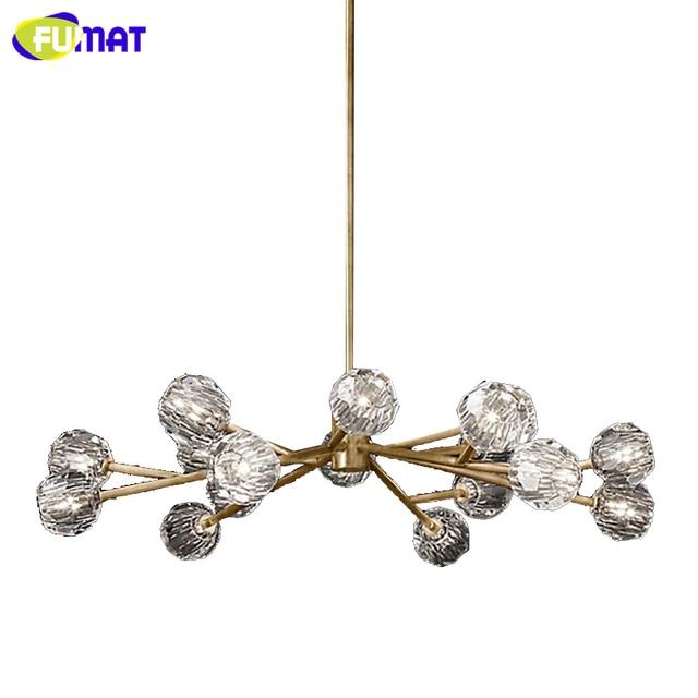 Fumat Rh Post Modern K9 Crystal Pendant Lights Art Decor Led Artistic For Living Room Kitchen Office Lightings