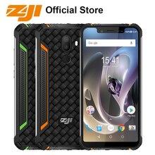 HOMTOM ZOJI Z33 4600 mAh 3 GB 32 GB IP68 Su Geçirmez telefon 5.85 inç HD + 19:9 Akıllı Telefon Android 8.1 MTK6739 Yüz KIMLIĞI 4G Cep Telefonu