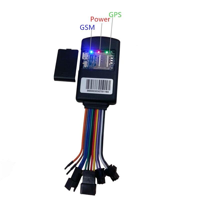 12 Pin Multi function GPS tracker vehicle car tracking