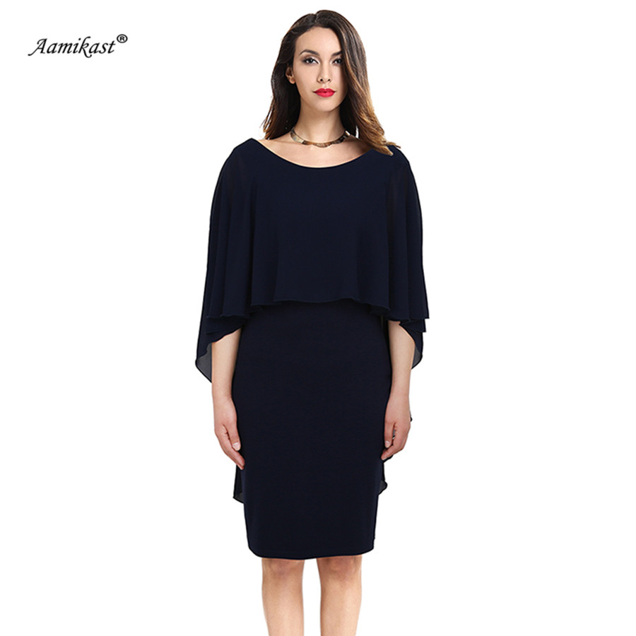 Aamikast 2018 Women Bohemian Sexy Chiffon Dress Summer Vintage Elegant  Cascading Ruffle Dresses Solid Pencil Vestidos S0625-in Dresses from Women s  Clothing ... d6b6399166a4