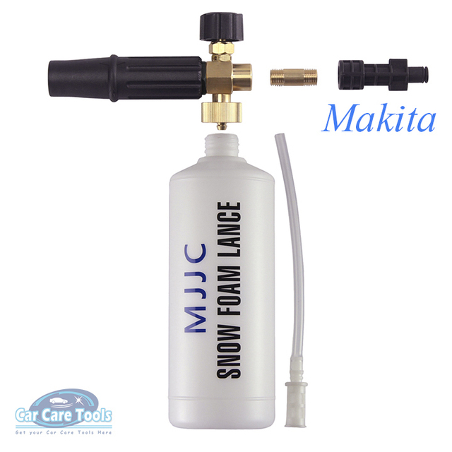 Bekend Makita Pressure Washer Compatible Snow Foam Lance with adapter for YT91