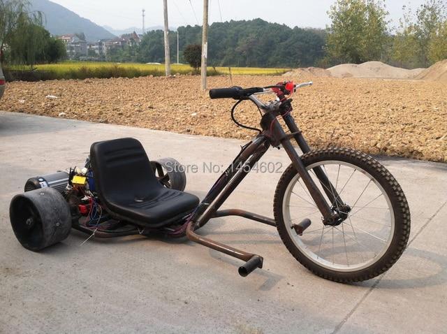 electric drift tirke, electric go kart ,motorized drift trike, rear ...