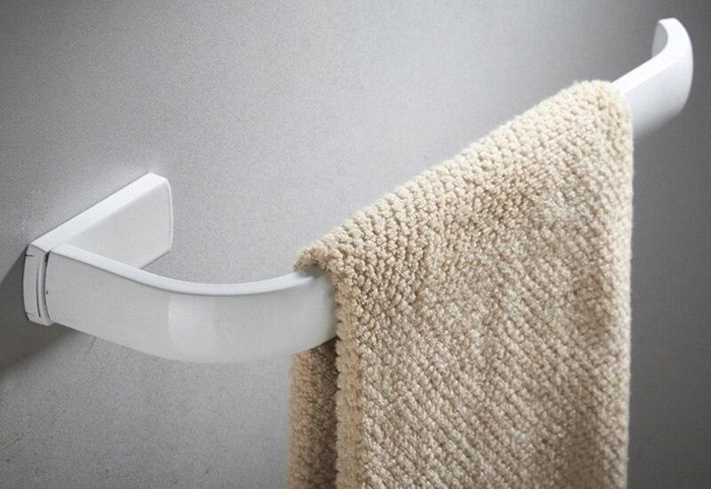 towel ring Bar holder white 1