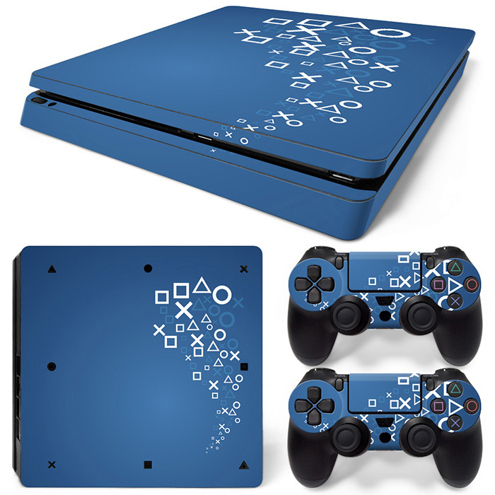 Stickers Console Controllers Ps4 Slim Vinyl for And
