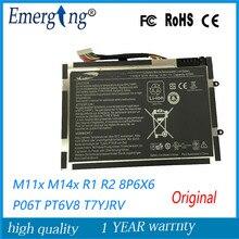 14.8V 63WH Original New   Laptop Battery for  Dell Alienware M11X M14X R1 R2 Battery 0w3vx3 08P6X6 PT6V8
