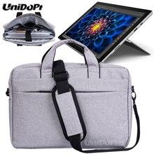 UNIDOPRO Waterproof Messenger Shoulder Bag Case for Microsoft Surface Pro 3 i3 i5 i7 Pro 4 128GB Tablet Sleeve Cover
