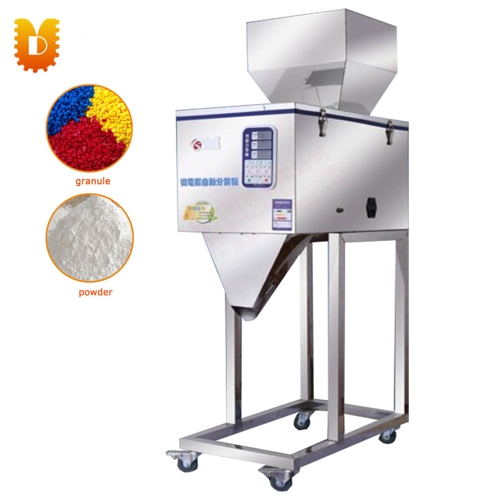 2-999g Tea Cereal Metals Particle/Powder Racking Machine/Filling Machine tea powder particles drug quantitative filling machine