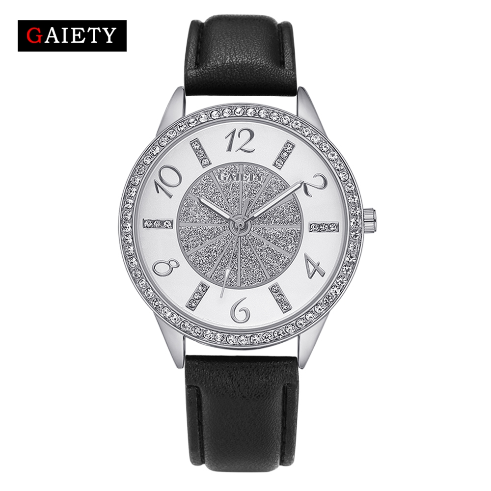 2017 Gaiety Fashion Women Watches Top Brand Luxury Leather Starp Business Quartz Watch Ladies Wristwatch Classic Silver Clock xinge brand fashion women quartz wrsit watches clock leather strap business watch ladies silver luxury female sport womens watch