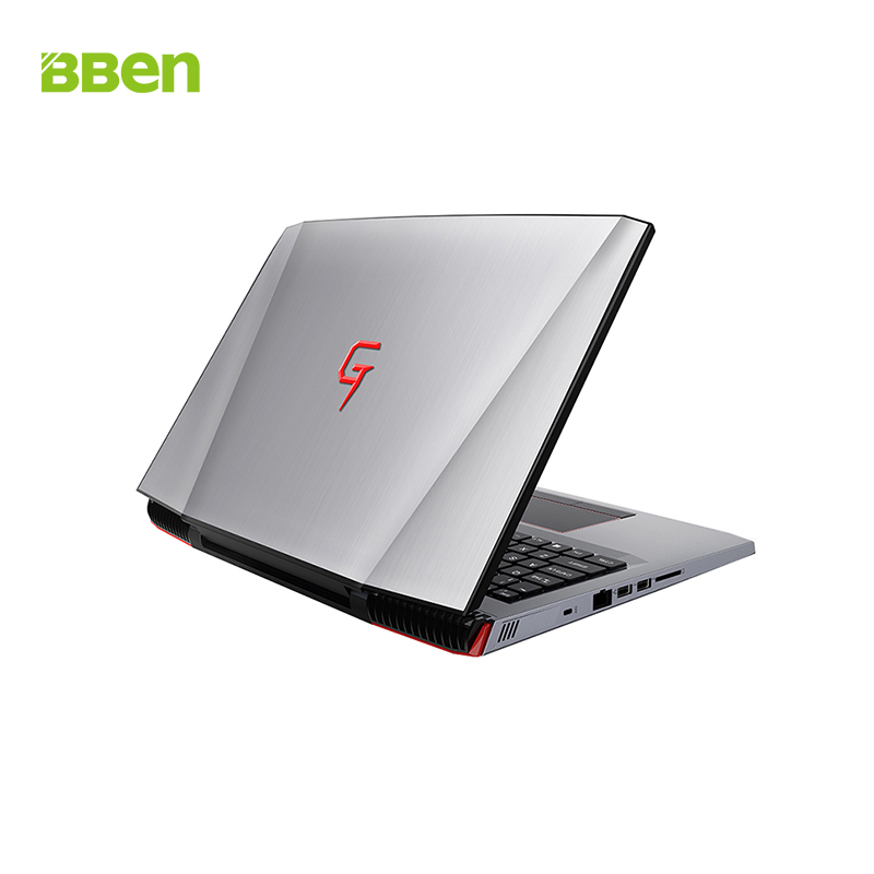 BBen G16 15 6 Laptop Intel i7 7700HQ GTX1060 8G 16G RAM 128G 256G SSD 1T BBen G16 15.6'' Laptop Intel i7 7700HQ GTX1060 8G/16G RAM 128G/256G SSD 1T HDD Aviation Metal RGB Backlit Keyboard IPS Pro Win10