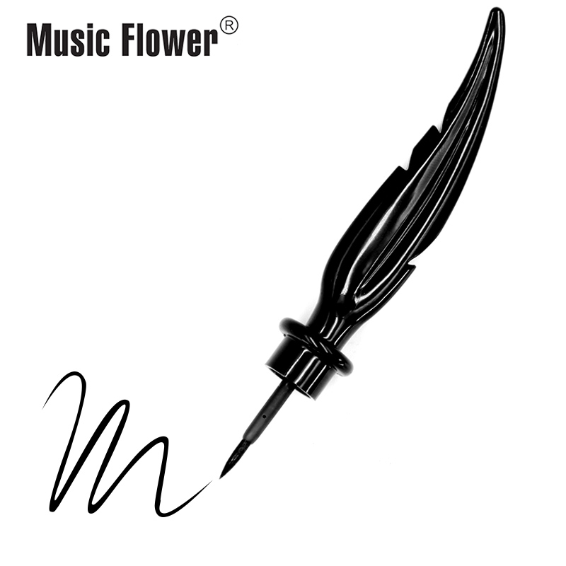 Dropshipping Music Flower Black Liquid Eyeliner Fashion