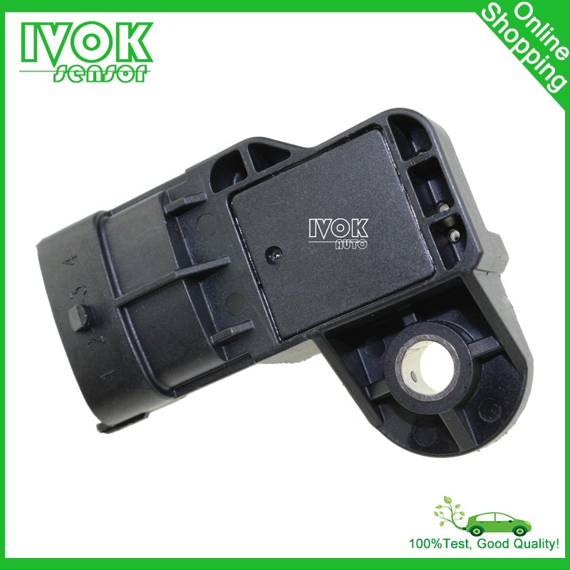 Sale Manifold Absolute Pressure MAP Sensor For Renault Captur Clio Kangoo Scenic Megane CC III 0