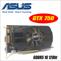 Asus GTX 750 FML 1GD5 GTX750 GTX 750 1G D5 DDR5 128 Bit PC Desktop Graphics