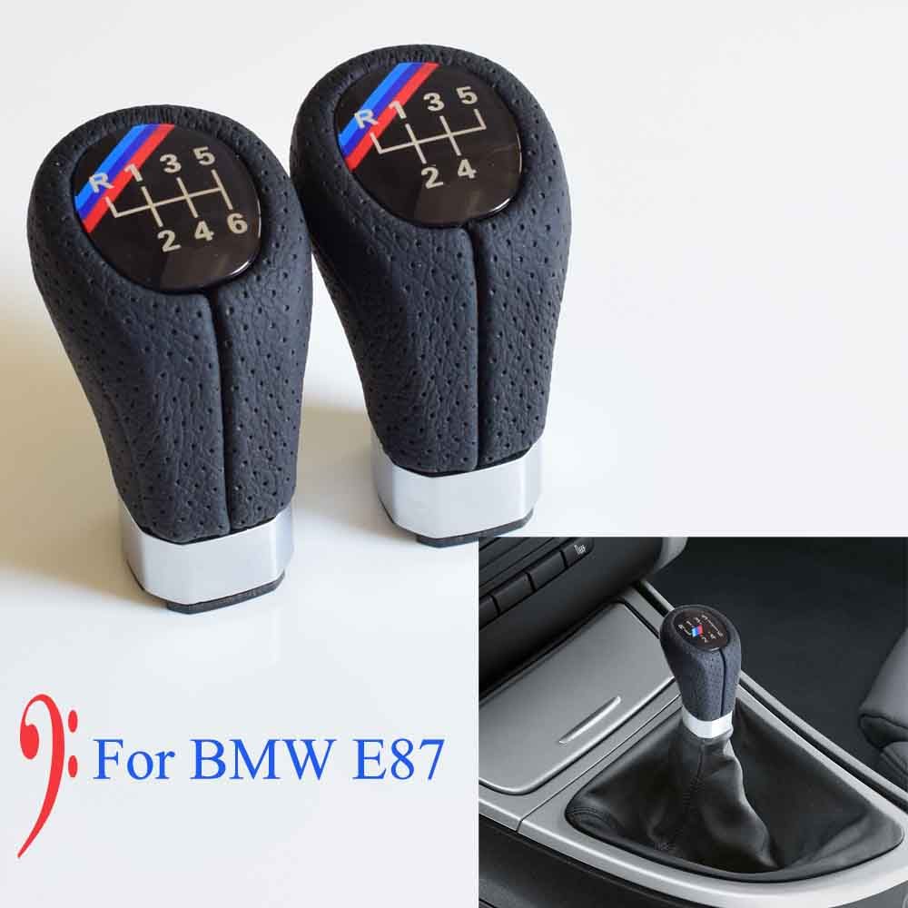 Image 3 - 5/6 Speed Gear Shift Knob Head Stick Shifter Lever Pen Handle HandBall For BMW 1 3 Series E81 E82 E87 E88 E90 E91 E92 E93-in Gear Shift Knob from Automobiles & Motorcycles
