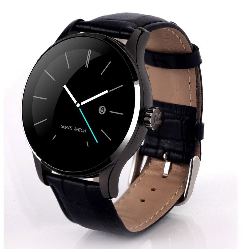 Bluetooth Smart Watch Waterproof Barometer Heart Rate Monitoring 2.5D curved OGS screen Twitter message