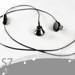 Image 2 - Auriculares de grafeno con micrófono, cascos planos de sonido suave de 150 ohm, alta resistencia, Cable HiFi OFC de 3,5mm